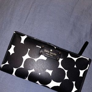 Authentic Kate Spade Polka Dot Wallet